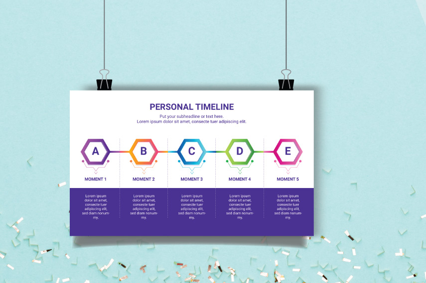 Growth Infographic timeline
